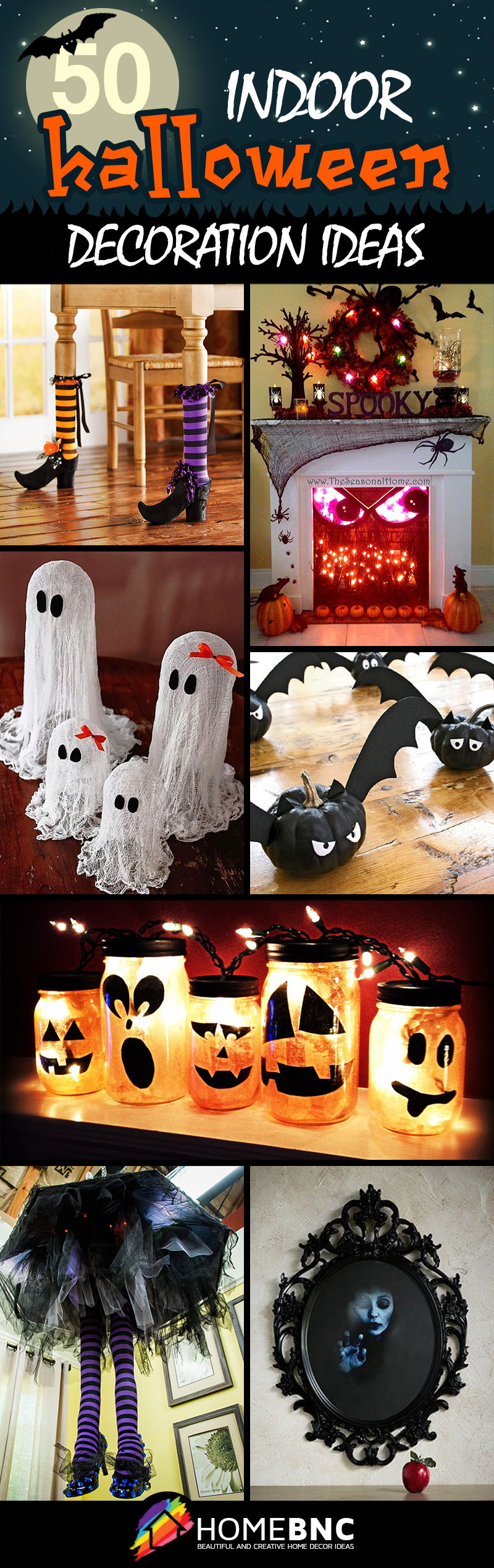 indoor halloween decoration ideas - Halloween Decoration Pictures