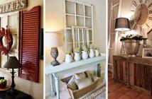 Rustic Entryway Decorating Ideas