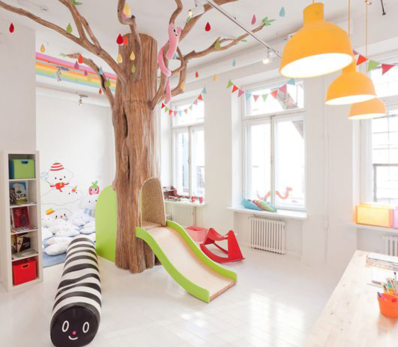 Colorful Kids Room Design: 15 Colorful Kids Playroom Design And Decor Ideas