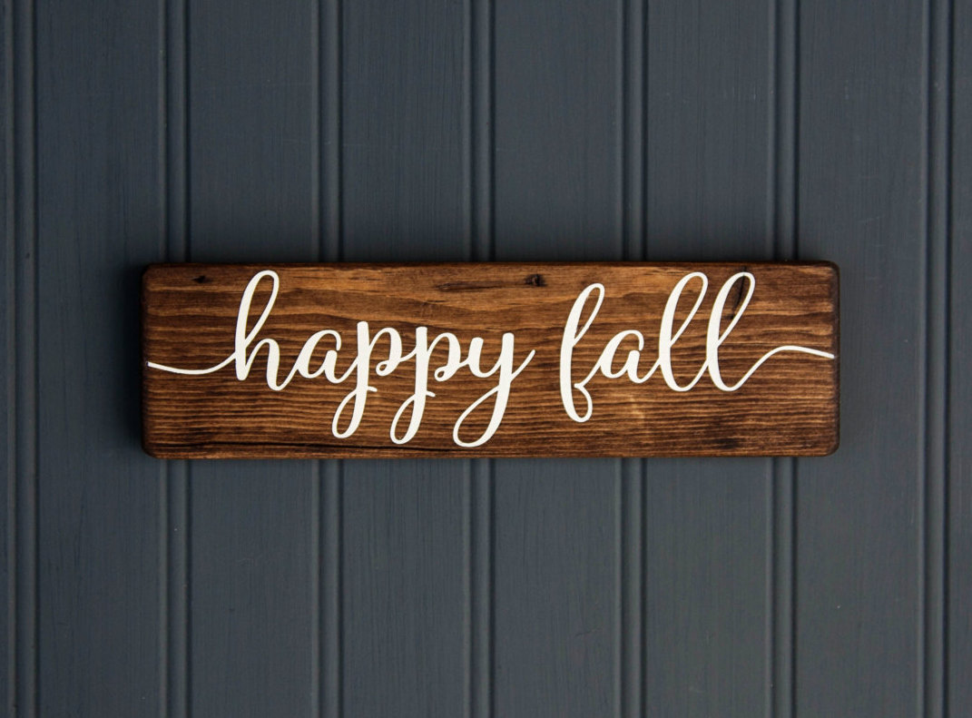 21 Fabulous Etsy Fall Decorations To Buy In 2019