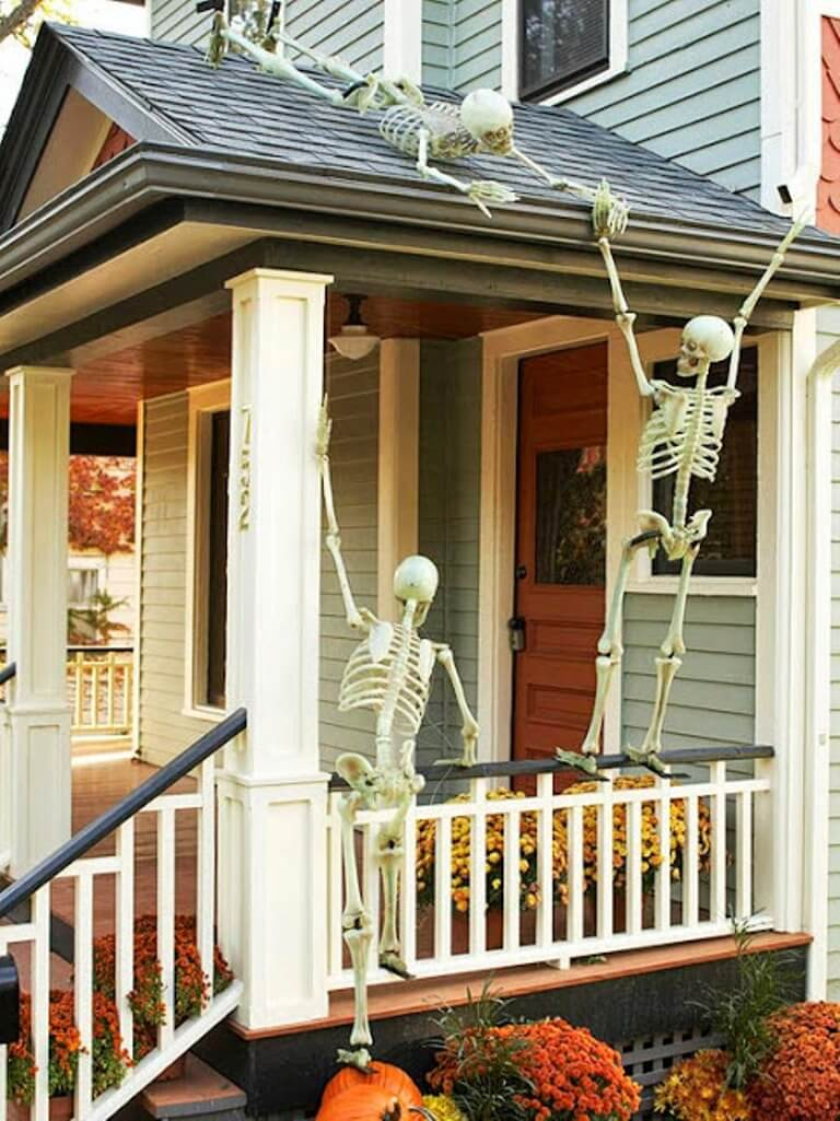 Skeletons on the Roof