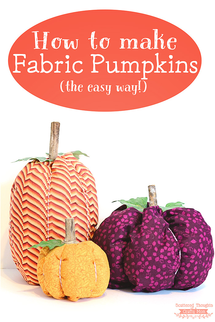"Fabric ""Pumpkins"" Have A Quaint Allure"