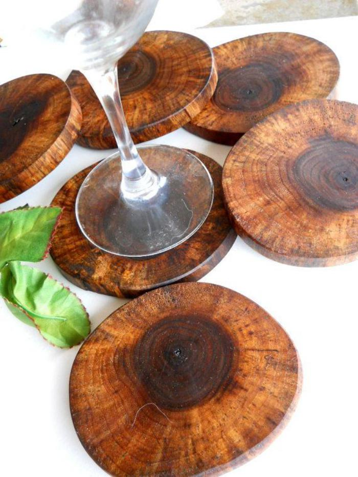 Hardwood Coasters for your Drink