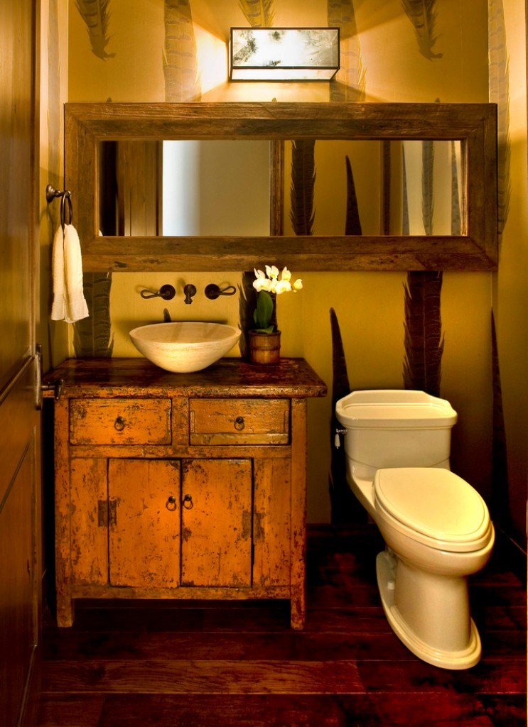 31 best rustic bathroom design and decor ideas for 2016 for Bathroom canisters ideas