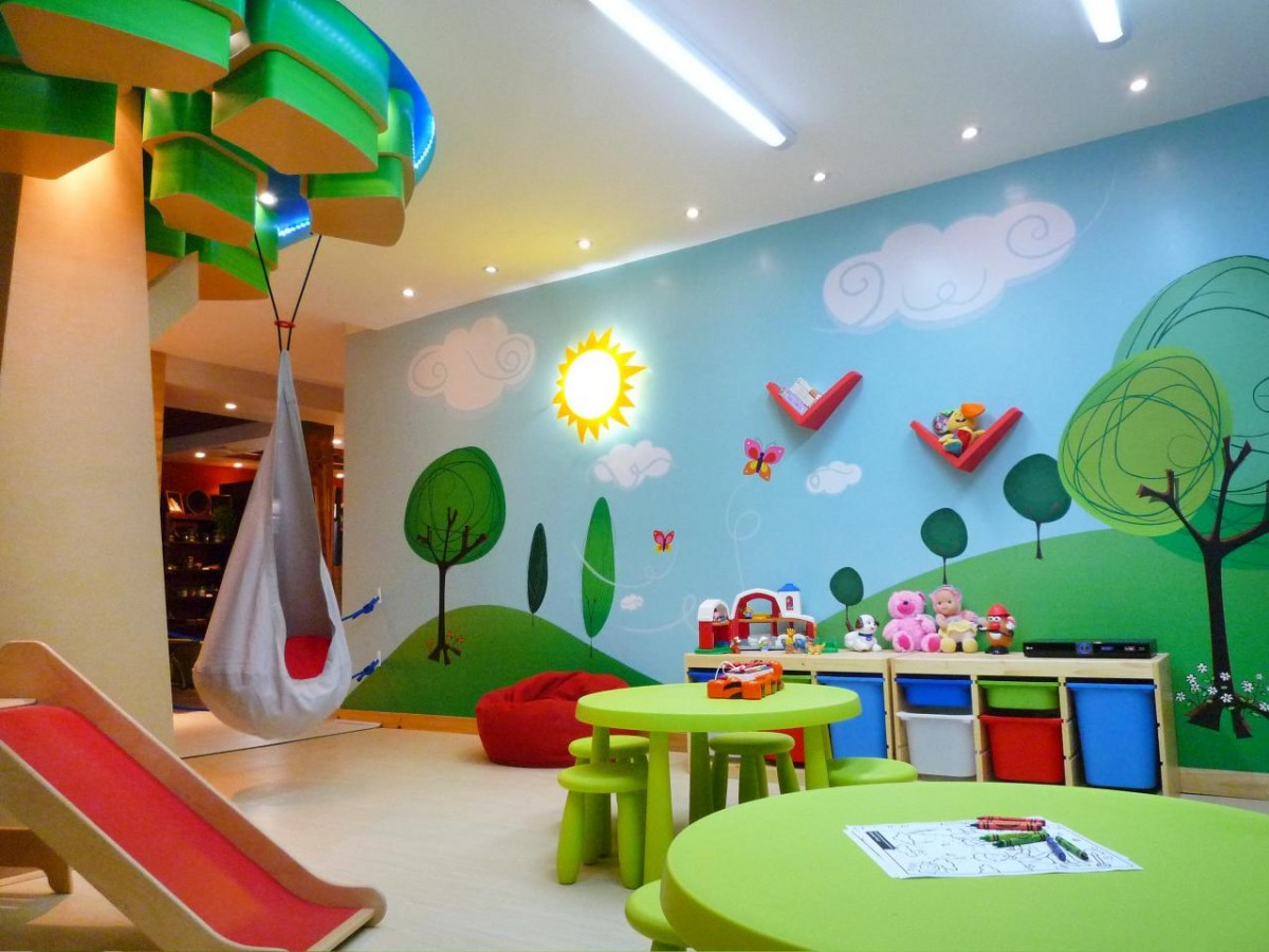 Childrens Play Room Prepossessing 15 Colorful Kids Playroom Design And Decor Ideas  Style Motivation Design Decoration