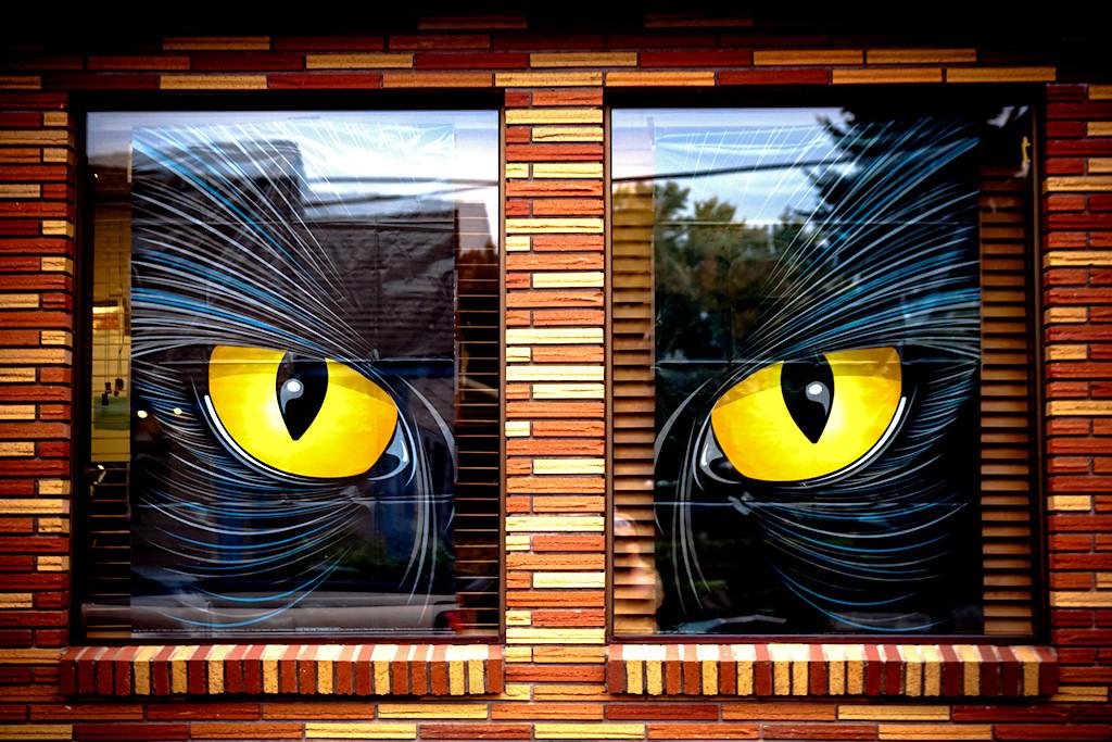 Halloween Window Decorations: The 33 Best Halloween Window Decorations For 2017