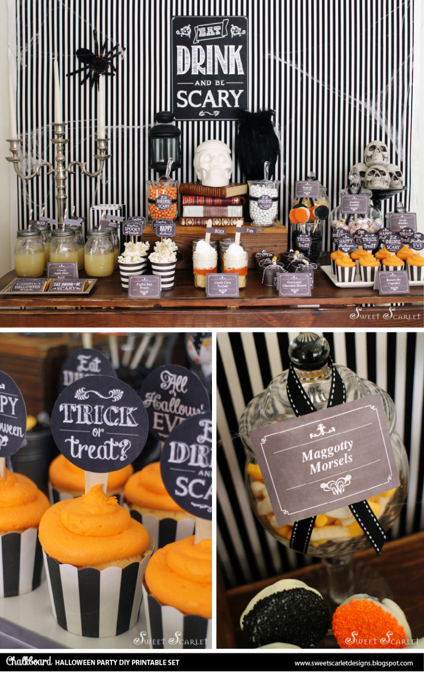 Halloween Party Display Set