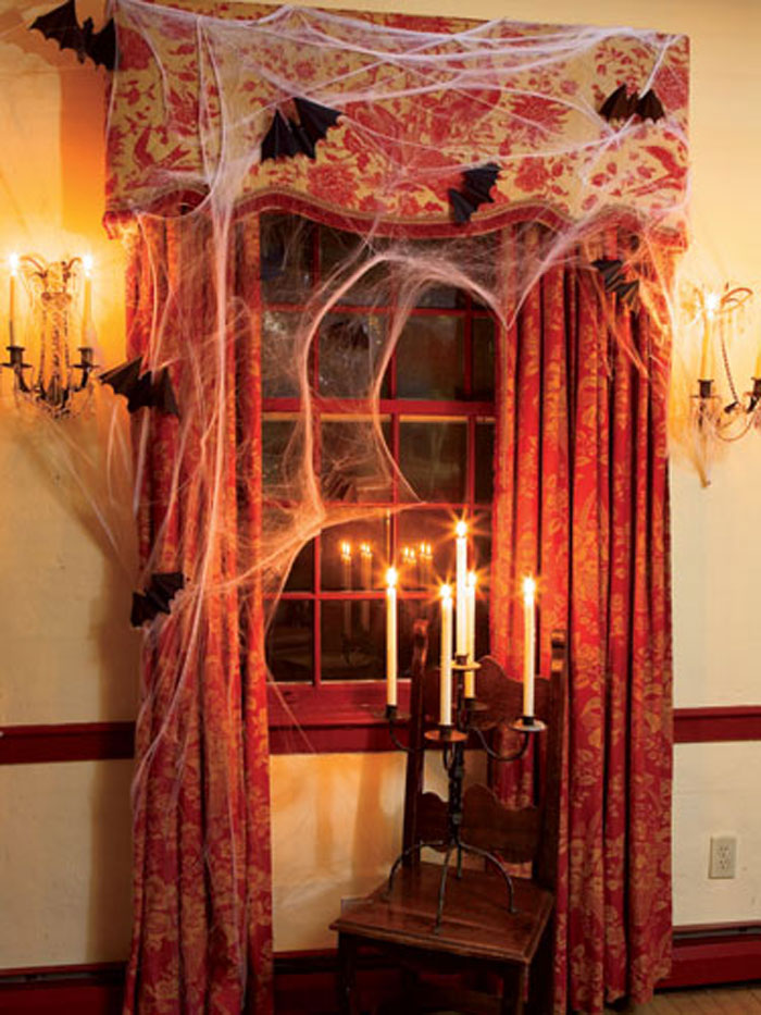 Window of a Haunted Mansion