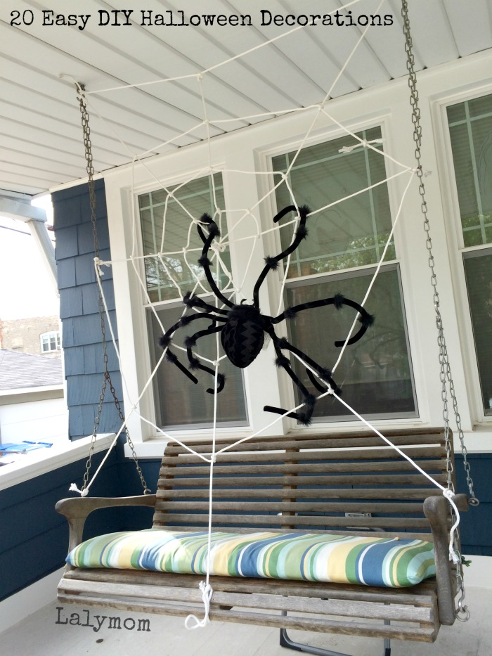 Spider on the Swing