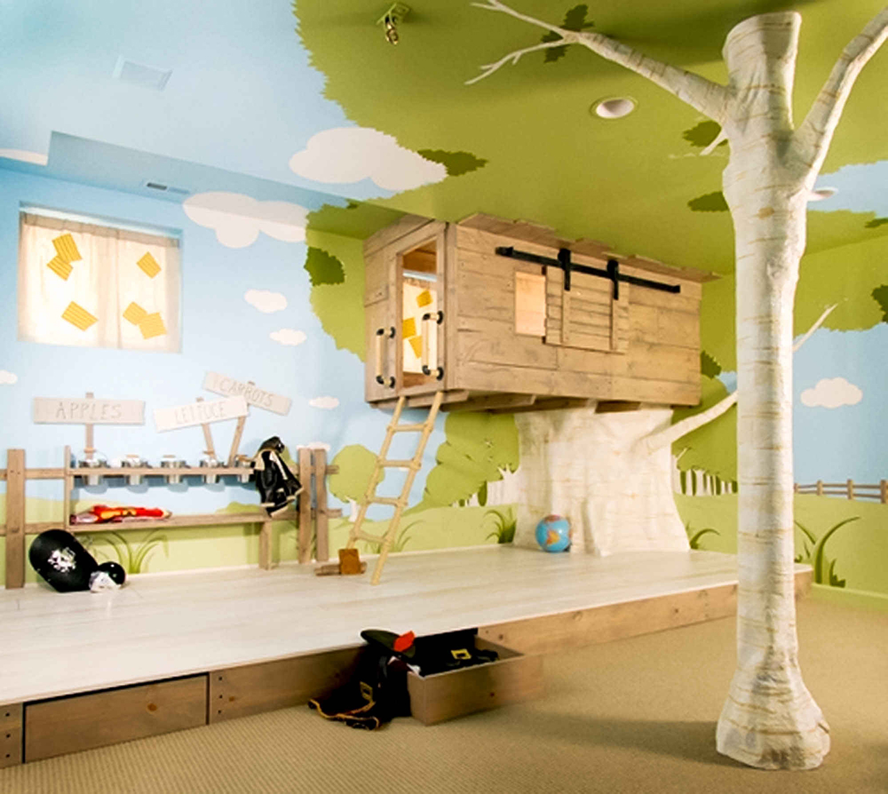 15 Colorful Kids Playroom Design and Decor Ideas