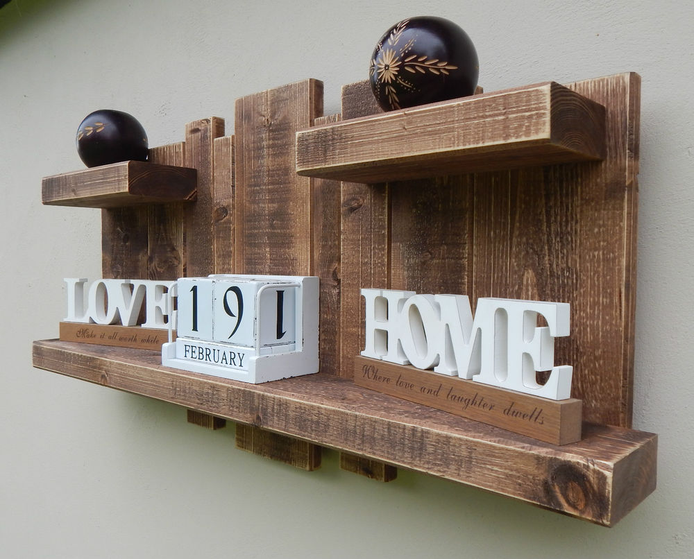 25 entry shelves of love and laughter - Wooden Wall Decoration Ideas