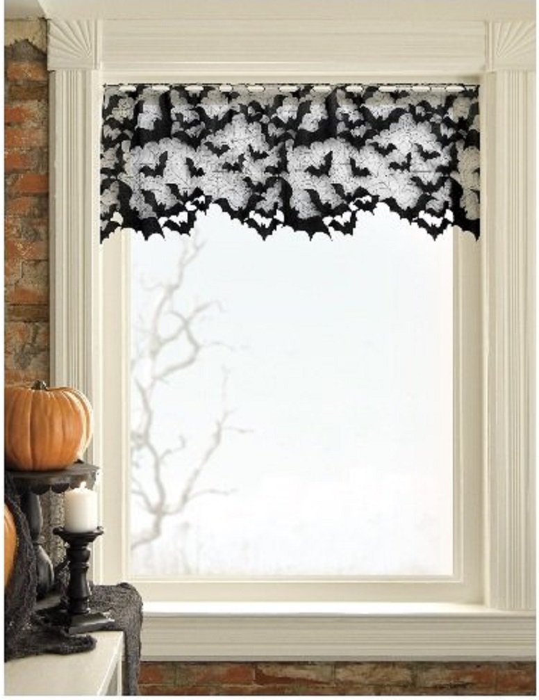 Bats Bats and More Bats & The 33 Best Halloween Window Decorations for 2018