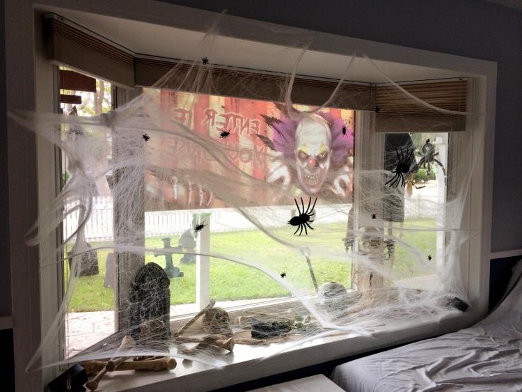 archeology or a massacre - Halloween Window Decoration