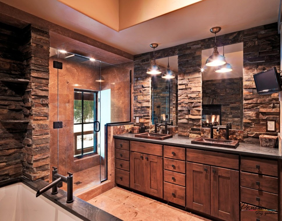17 inspiring rustic bathroom decor ideas for cozy home - style