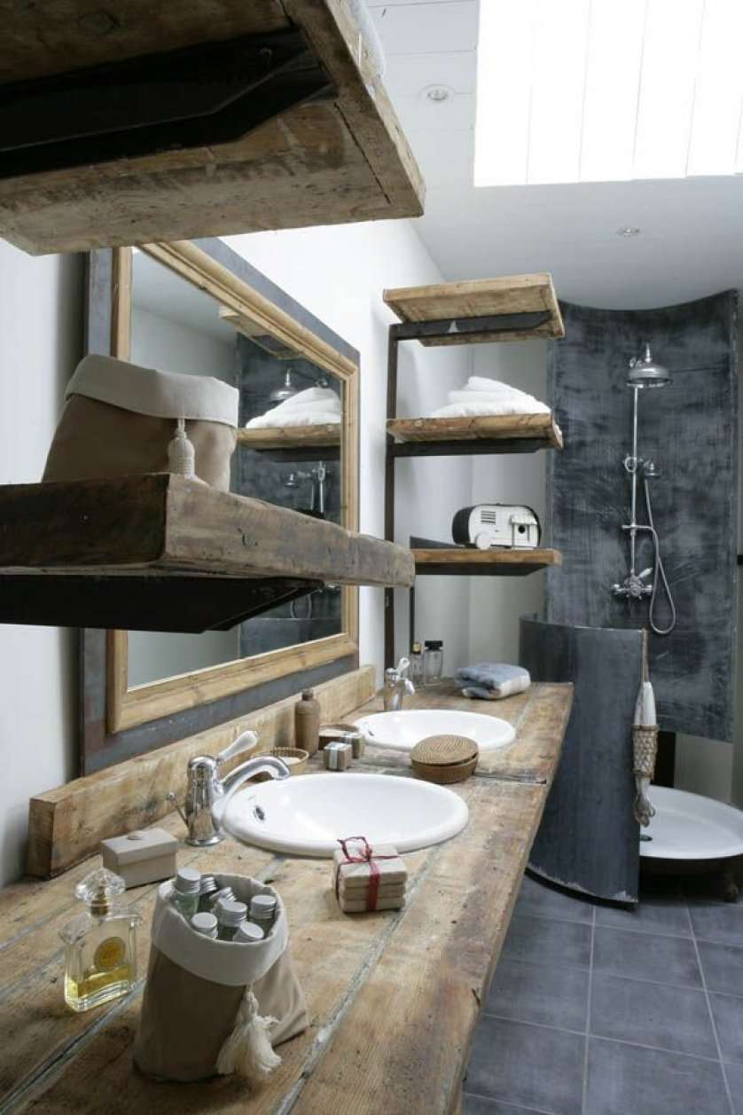 50+ best rustic bathroom design and decor ideas for 2020