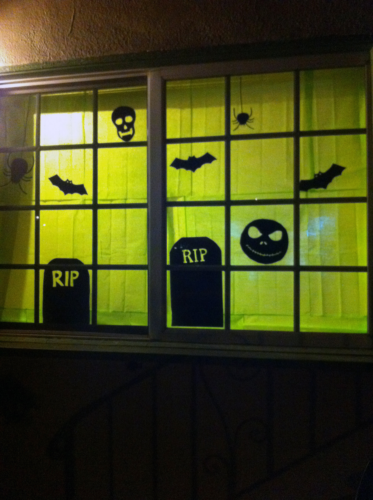 Large Halloween Tombstones