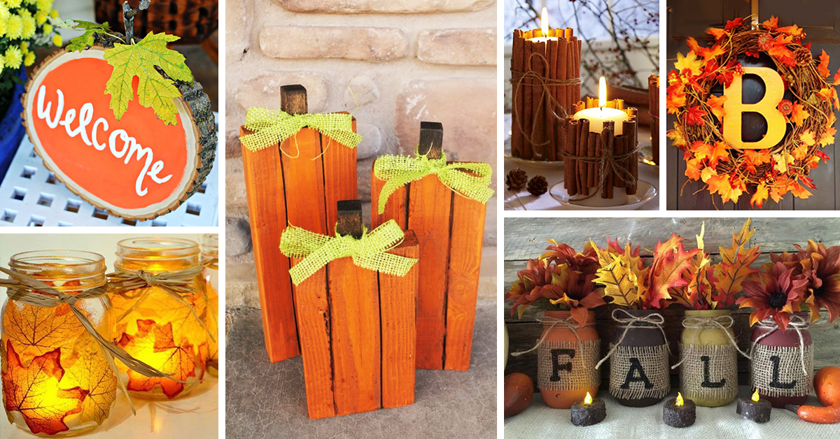 fall craft idea 28 best diy fall craft ideas and decorations for 2017 1977