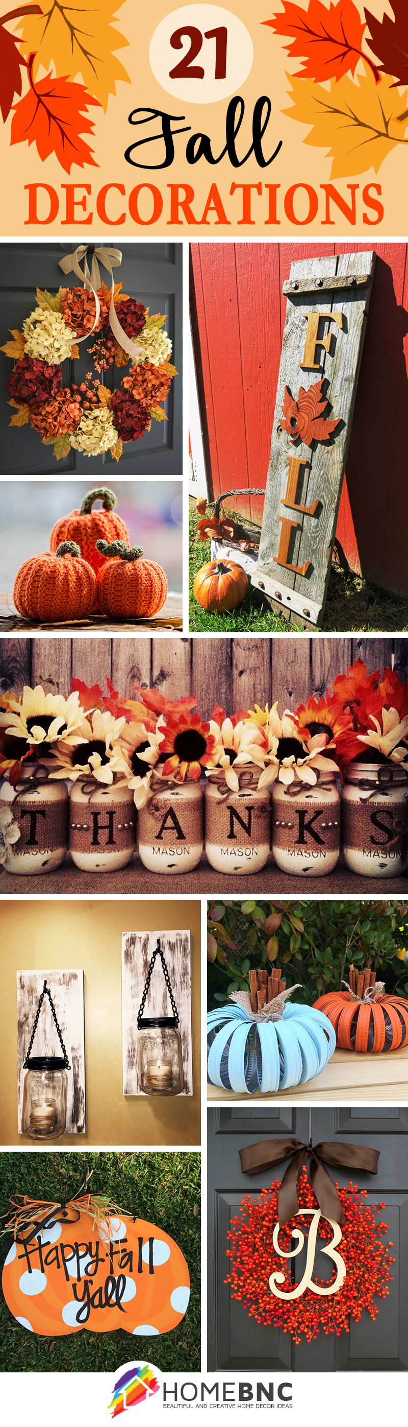 21 Fabulous Fall Decor Ideas For Your Home Decoration