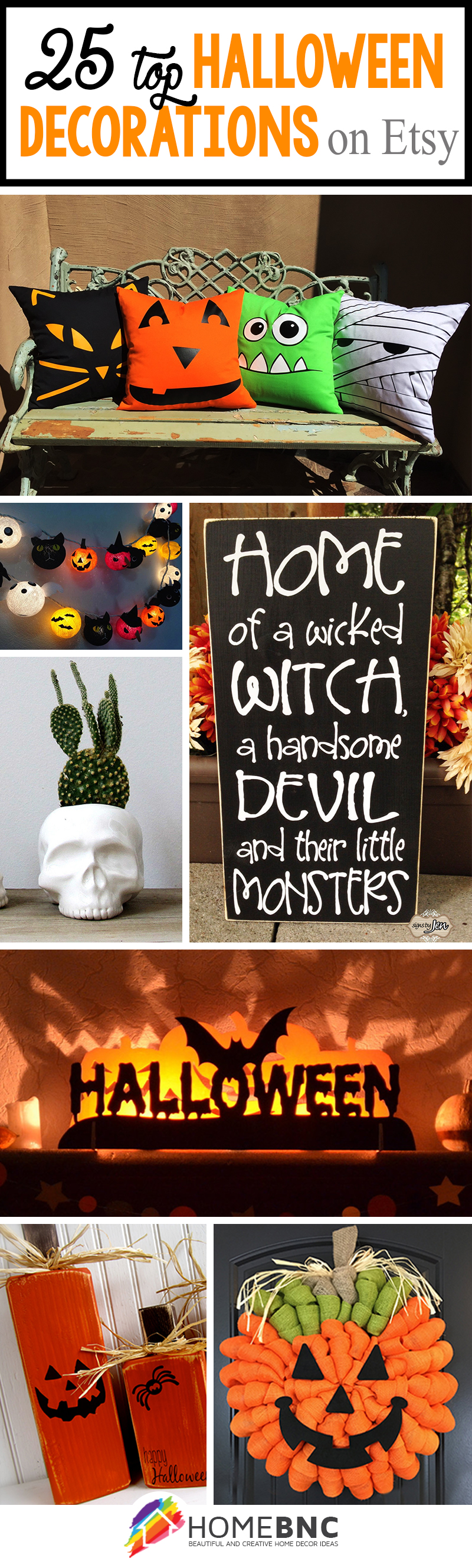 halloween dcor ideas - Etsy Halloween Decorations