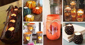 Fall Candle Decoration Ideas