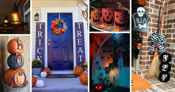 Halloween Porch Decorations