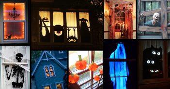 Halloween Window Decoration Ideas
