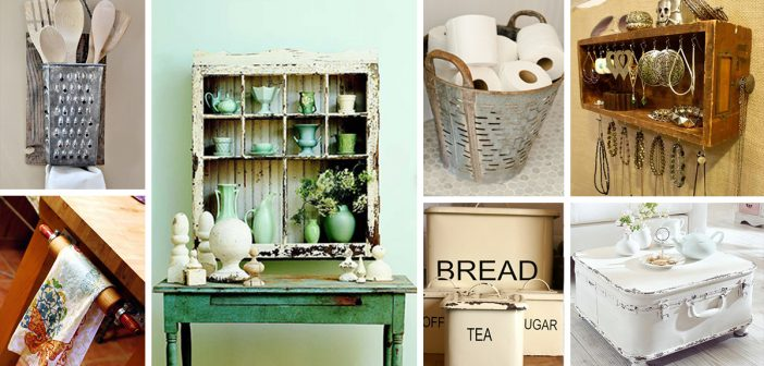 Vintage Storage Ideas