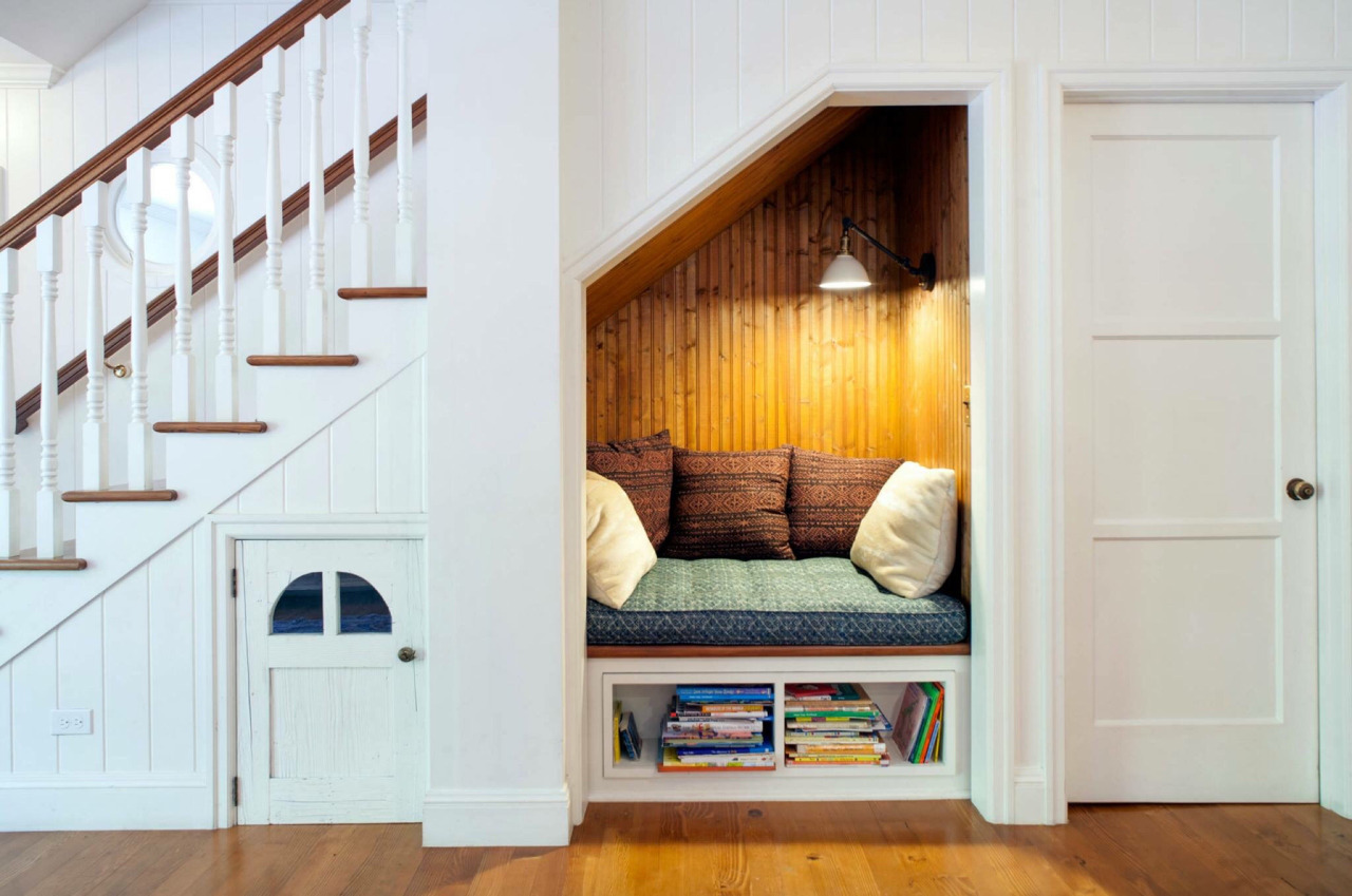 Hide Away in a Cute Closet-Turned-Room