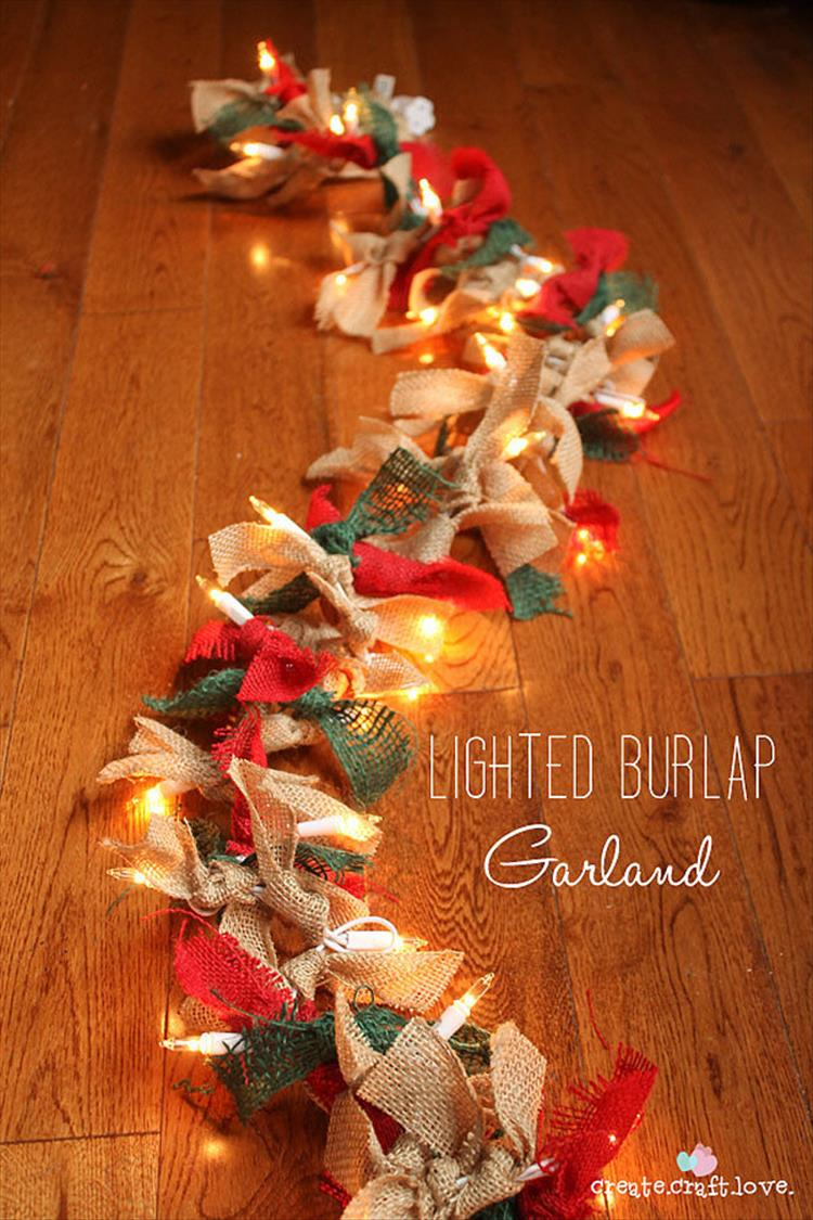 diy christmas decor 50 trendy and beautiful diy lights decoration 436