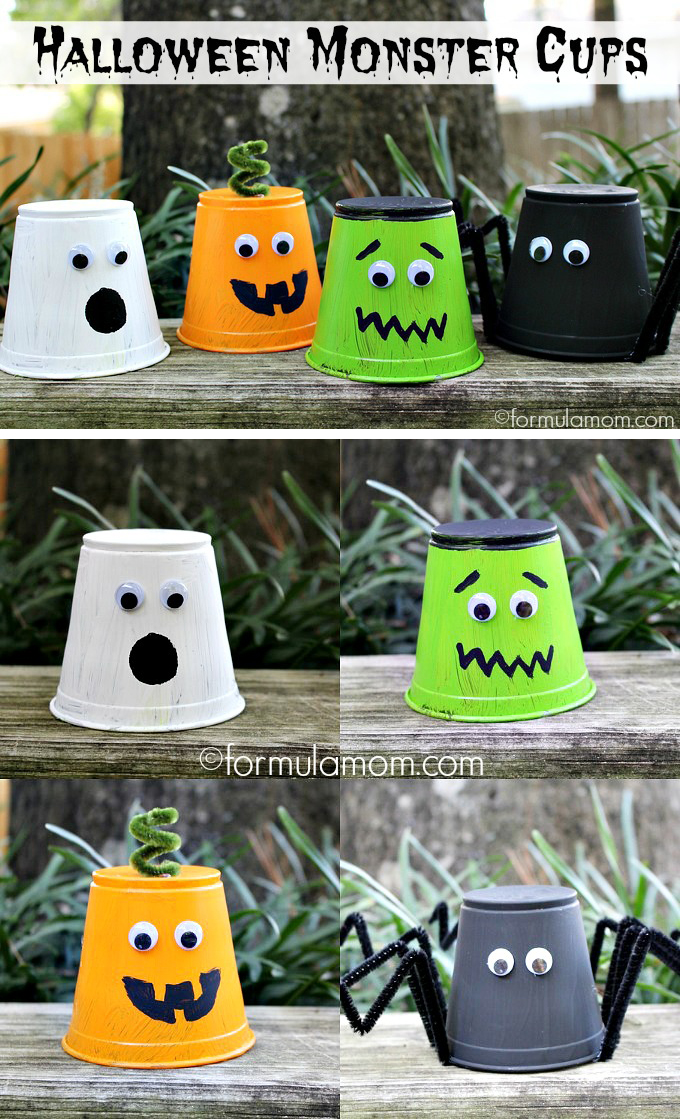 Party Cup Monsters