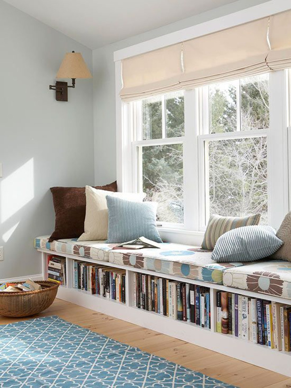 18 unique reading nook design ideas style motivation for Sofa vor fenster