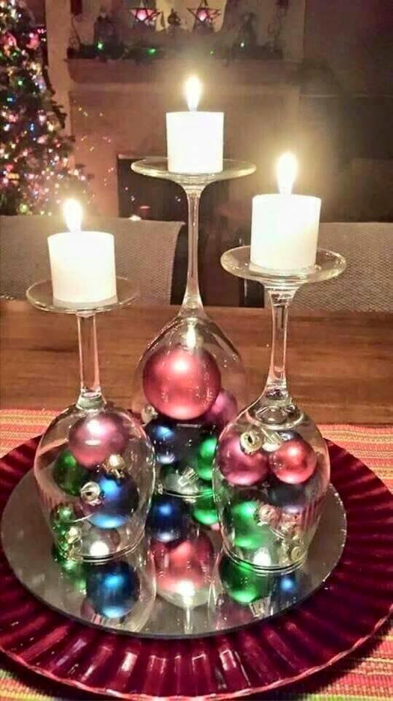 candelabra of christmas joy - Indoor Christmas Decorations Ideas