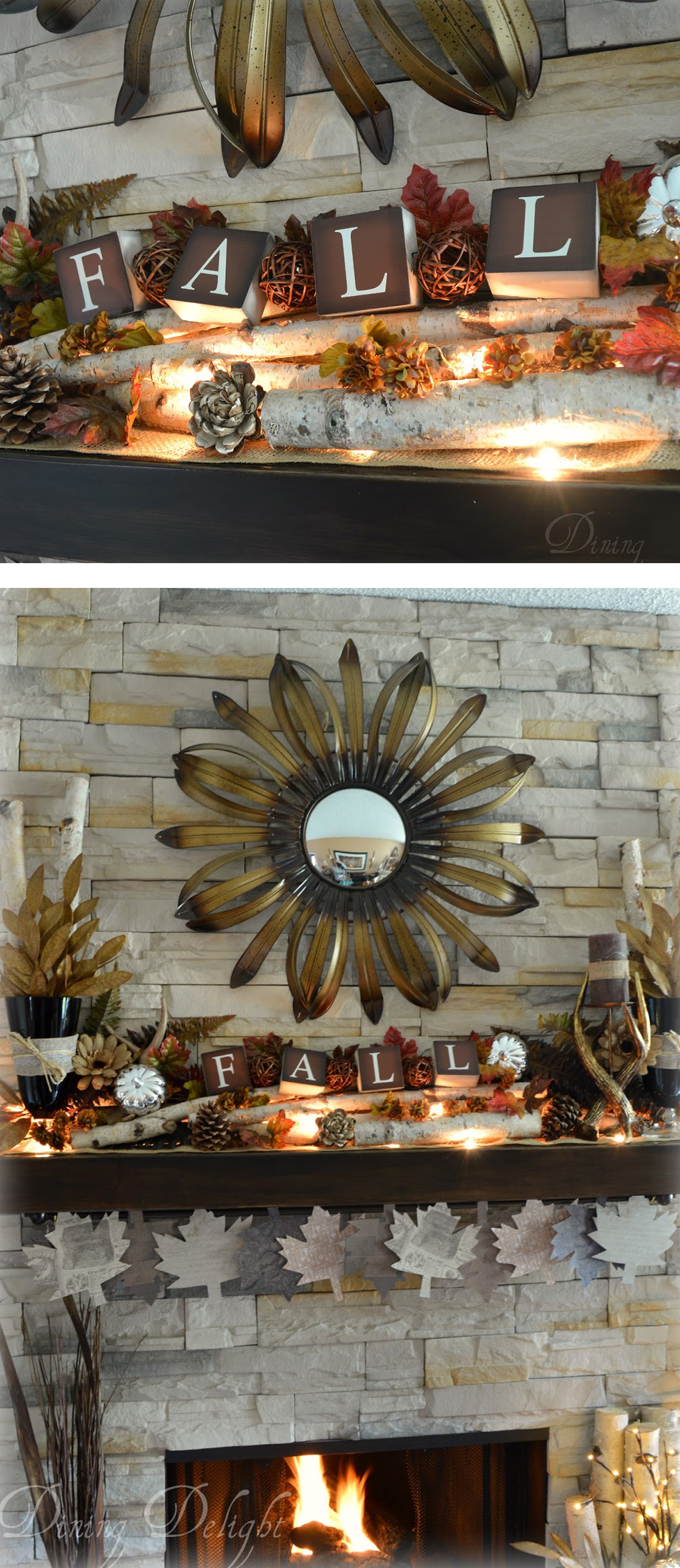 Decorating Ideas For Small Bathrooms In Apartments: 24 Best Fall Mantel Decorating Ideas And Designs For 2017