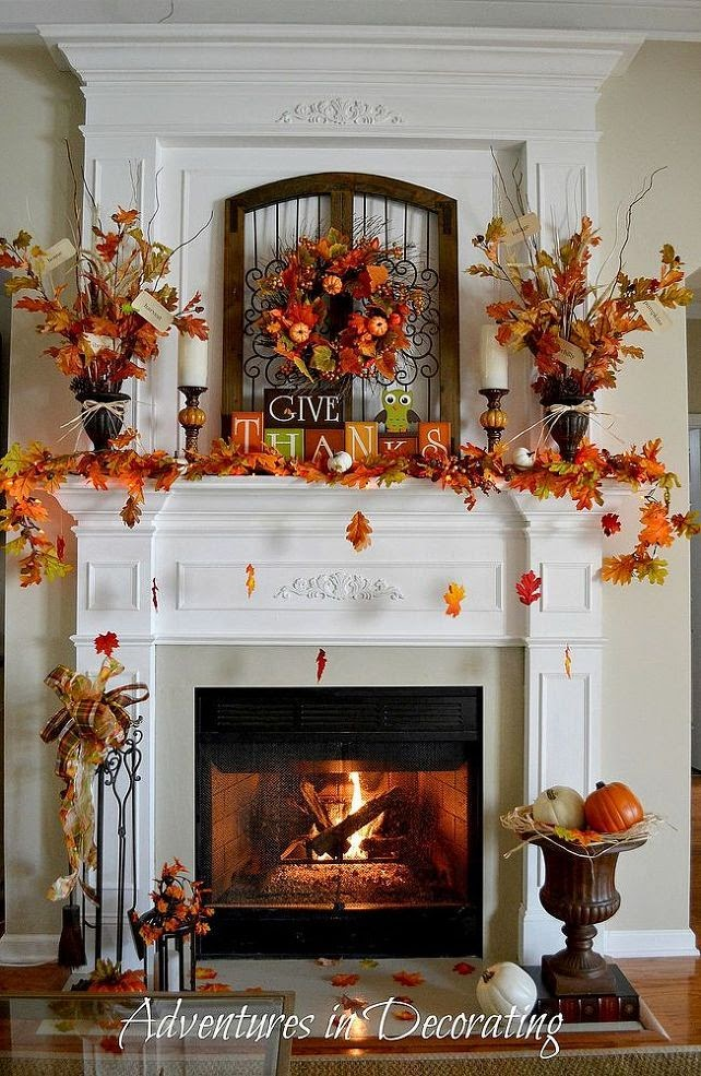 24 Best Fall Mantel Decorating Ideas And Designs For 2020