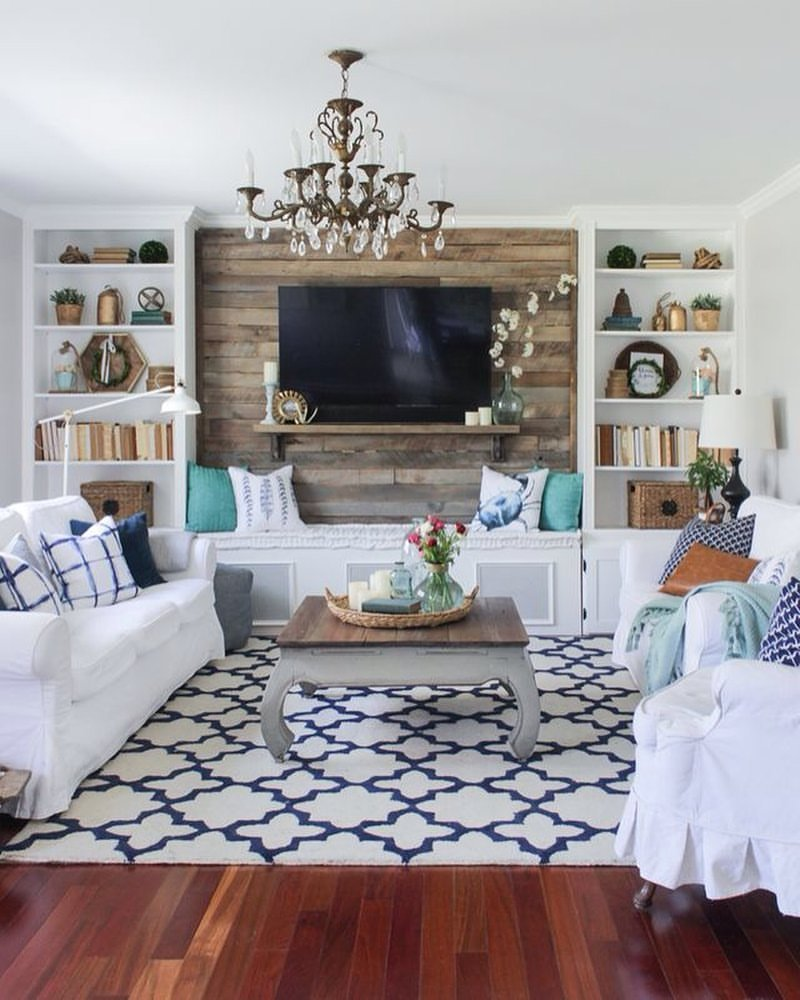 16 chic details for cozy rustic living room decor - style motivation