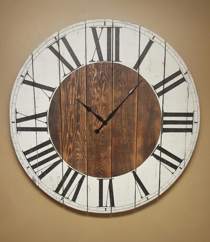 """The """"Abigail"""" Farmhouse Clock"""