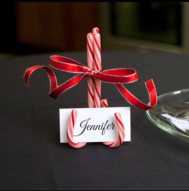 Candy Cane Name Holders