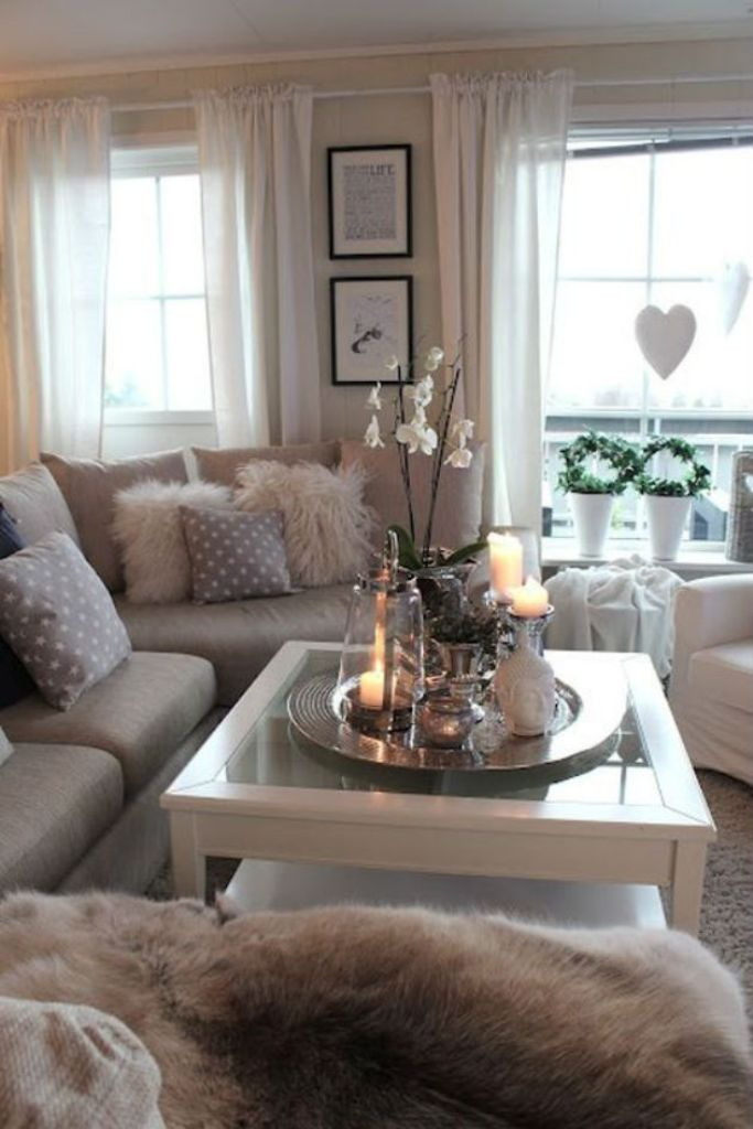 16 chic details for cozy rustic living room decor style for Trendy living room ideas