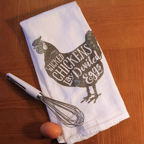 Funny Dish & Tea Towel