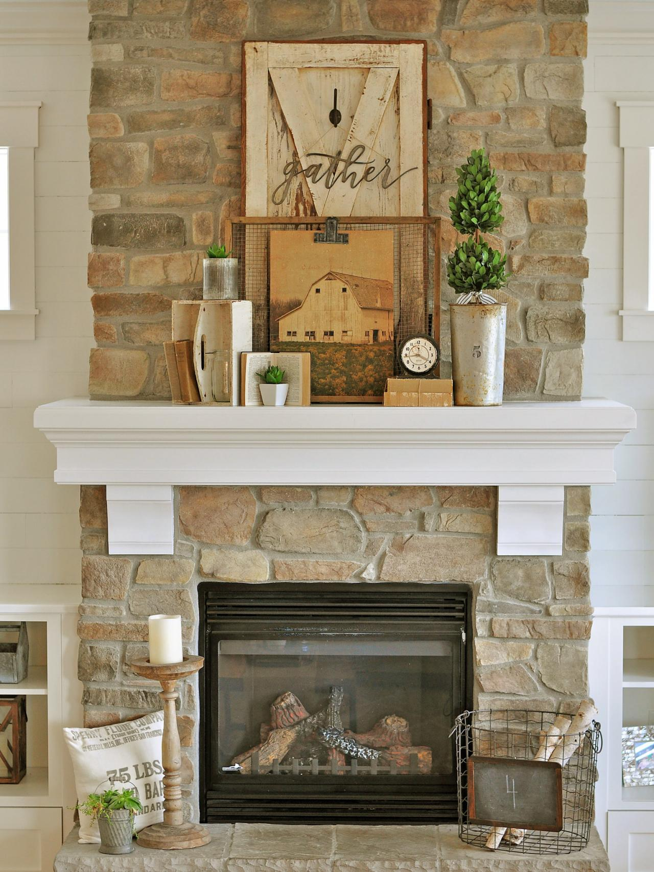 Mantel Decorating Ideas For The Holidays: 24 Best Fall Mantel Decorating Ideas And Designs For 2019