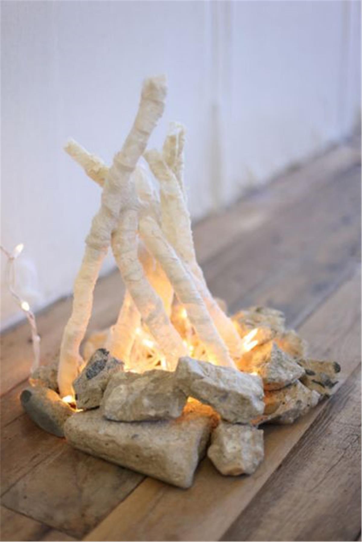 Adorable Tiny Campfire