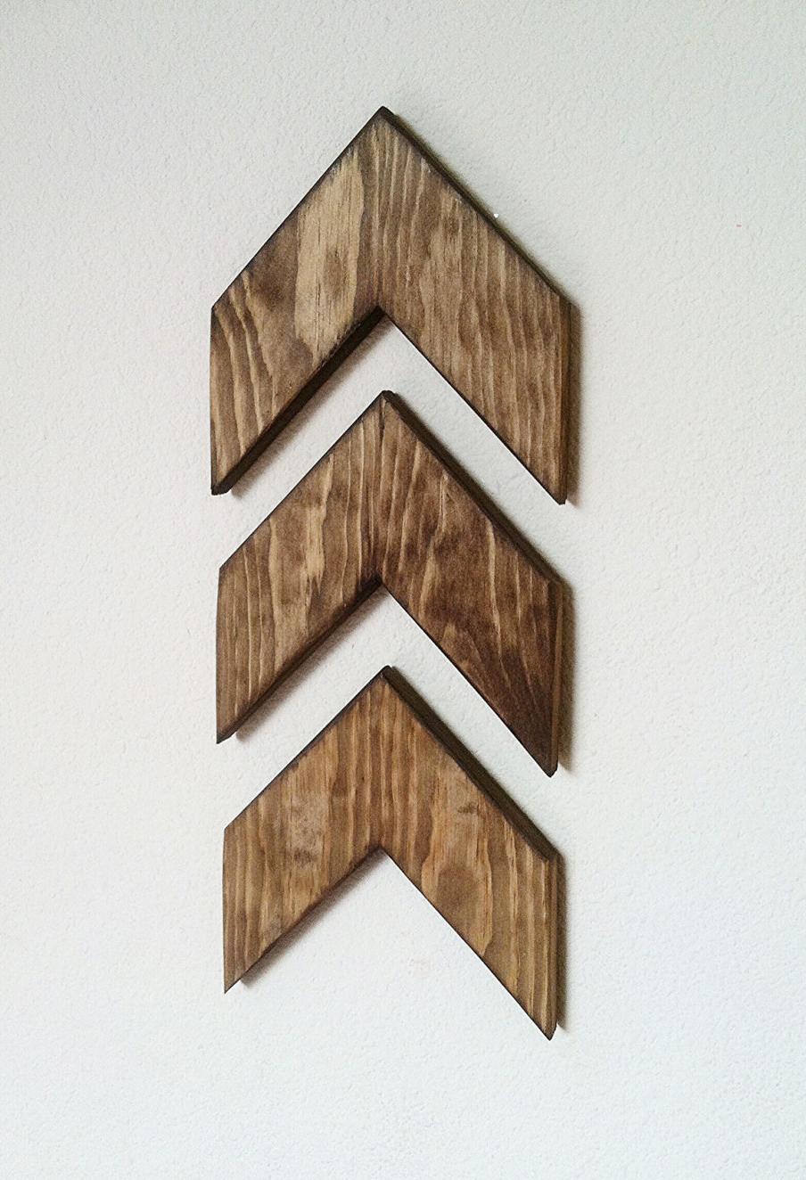 Set of 3 Small Wooden Arrows