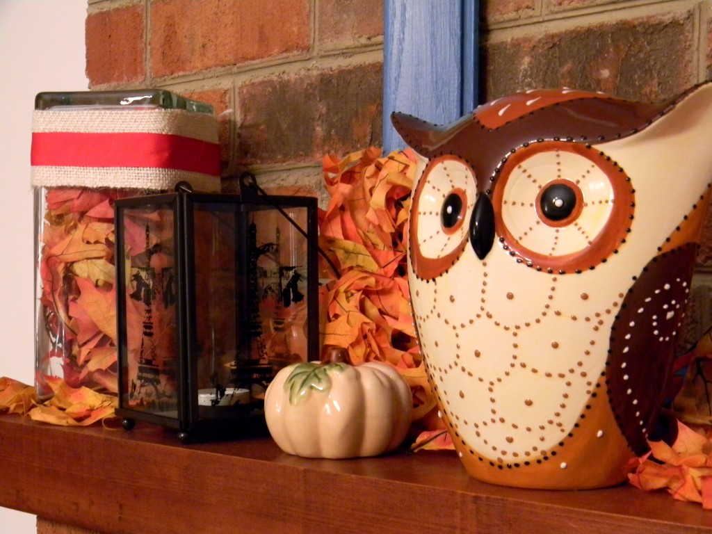 Owls Work Well with Fall Decor