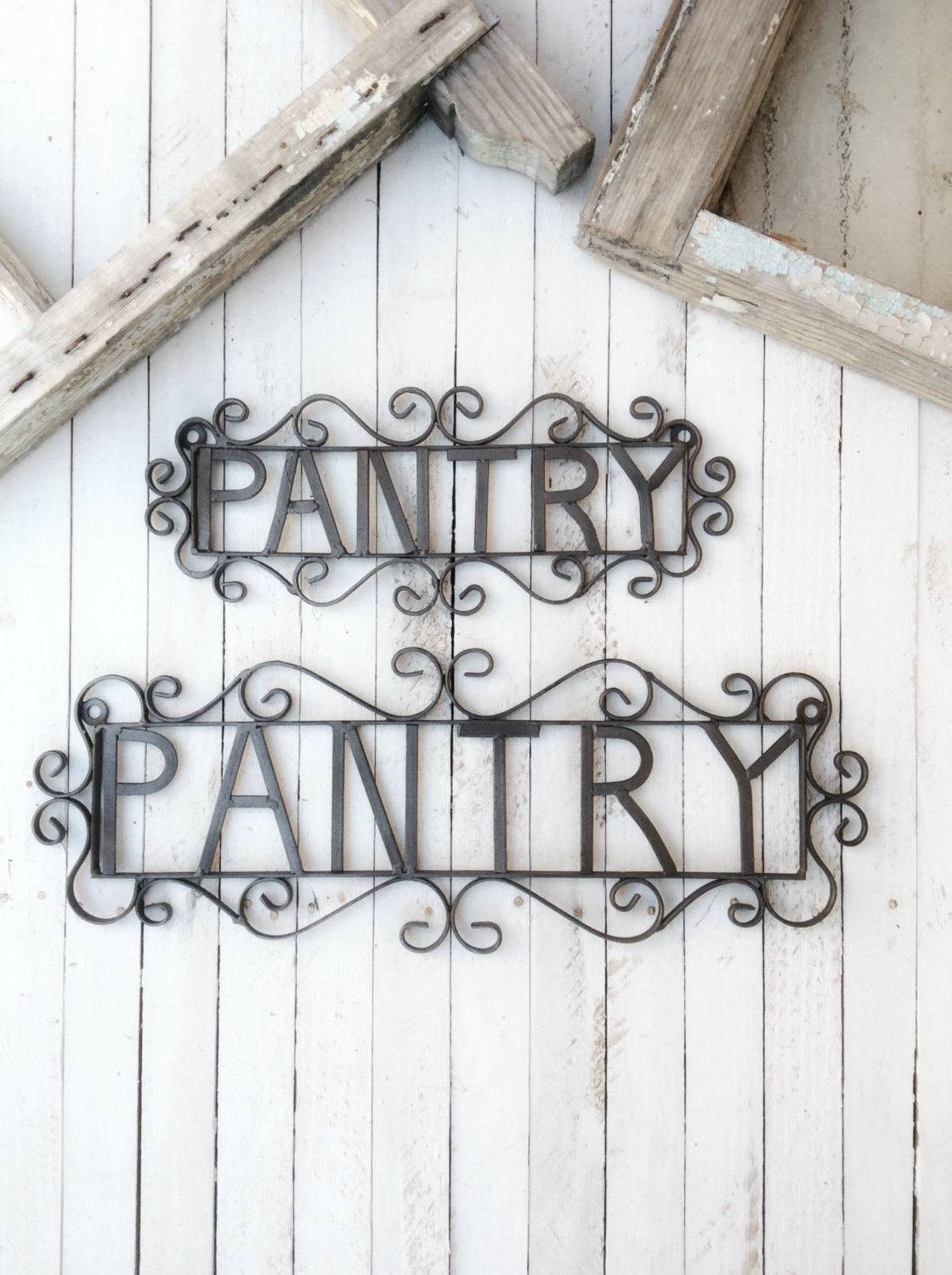 Metal Pantry Sign