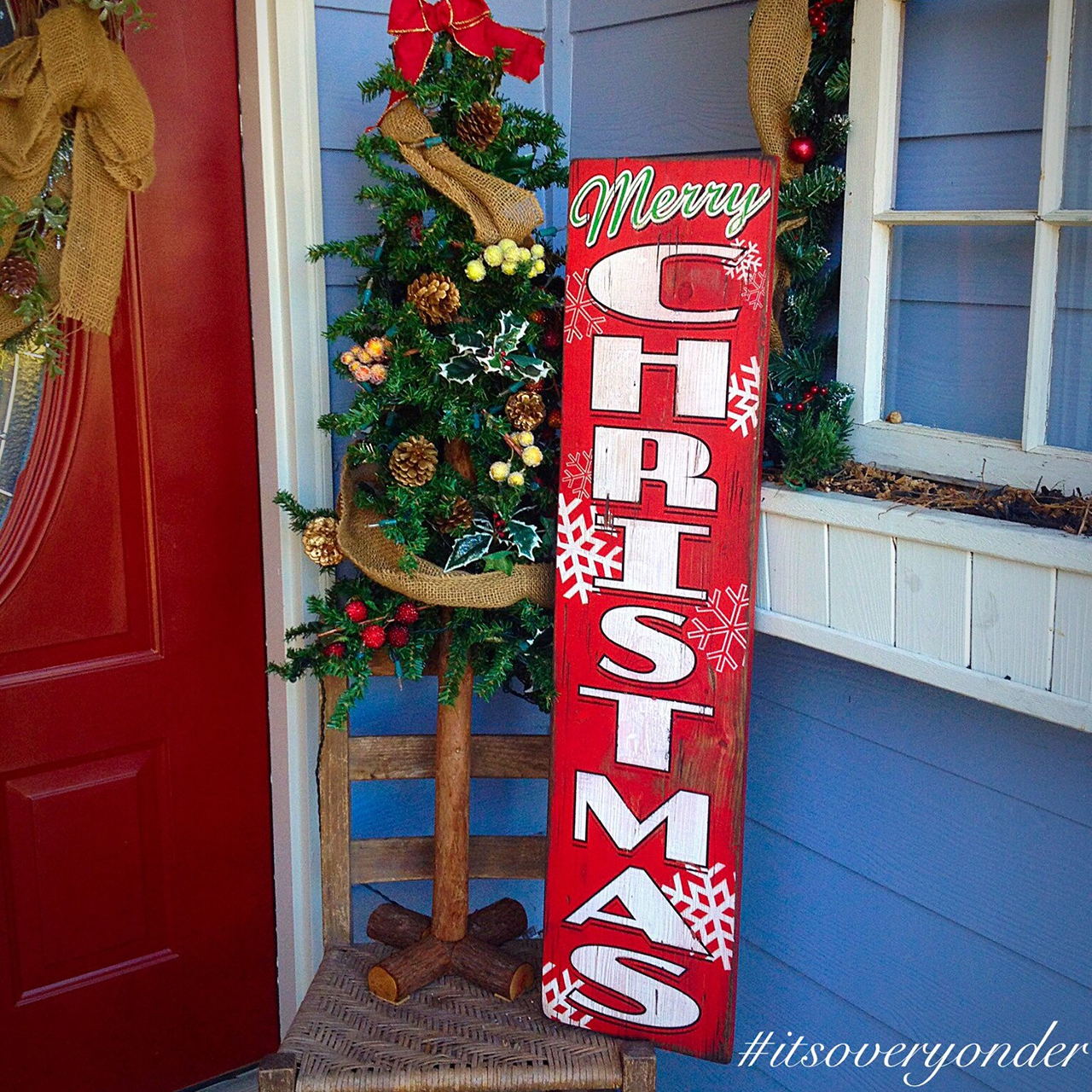 rustic pallet sign - Christmas Pallet Signs