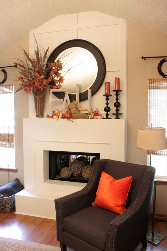 30 Fall Porch Decorating Ideas Top 10 Pro Decorating Tips: 24 Best Fall Mantel Decorating Ideas And Designs For 2019