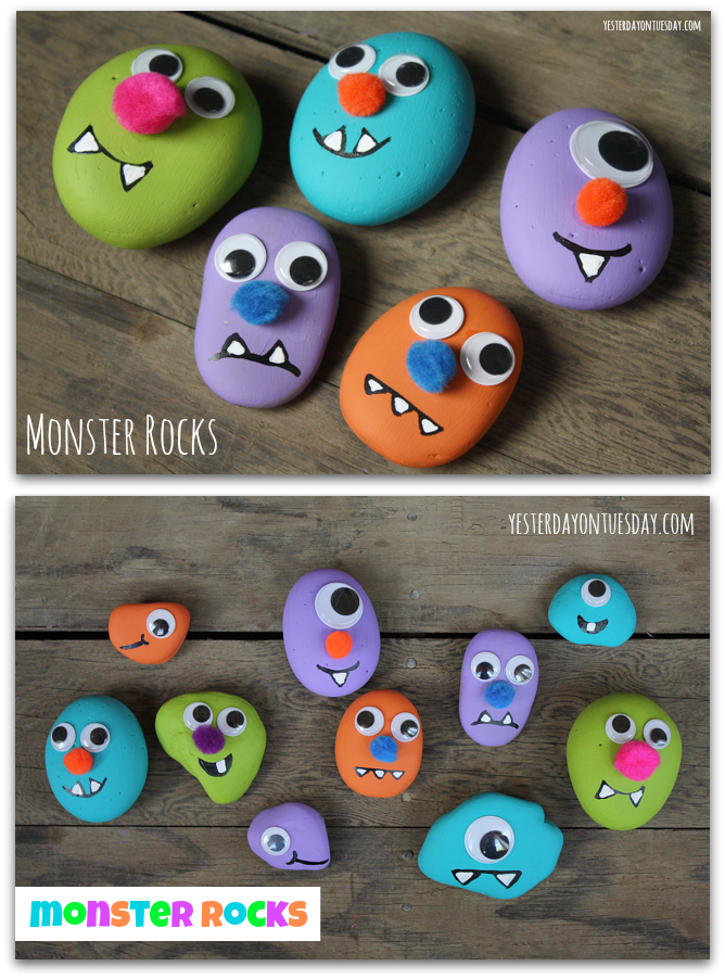 Pet Monster Rocks