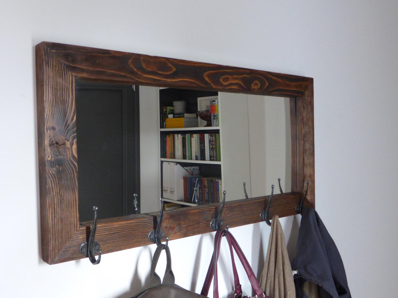 Mirror Coat Rack