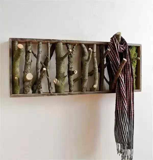 Tree Branch Wall Art And Coat Rack Homebnc Unique Branch Wall Coat Rack