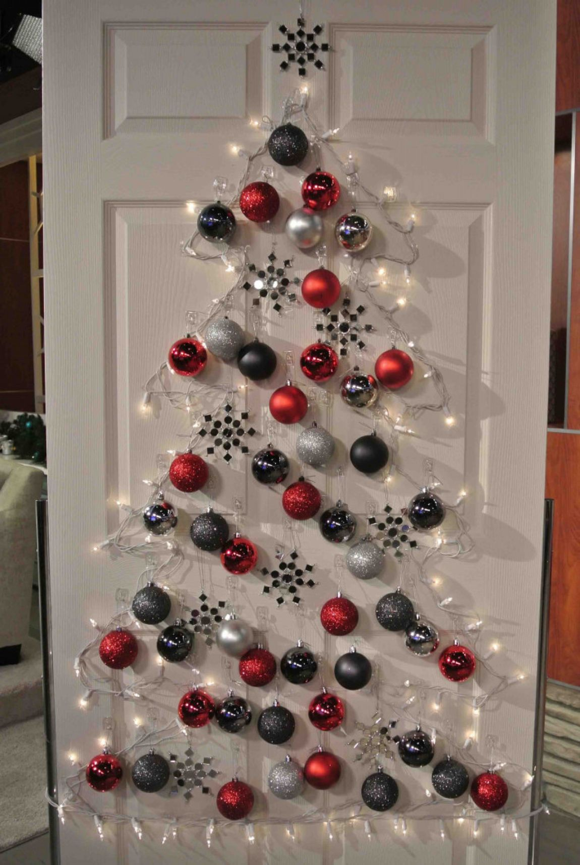 50 Trendy and Beautiful DIY Christmas Lights Decoration Ideas in 2017